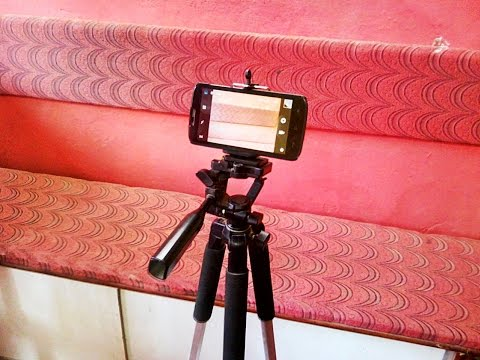 Universal Mobile Holder Tripod Head (How To Use)