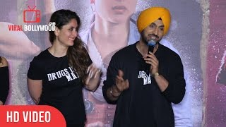 Diljit Dosanjh Full Speech | Udta Punjab Trailer Launch | ViralBollywood Entertainment