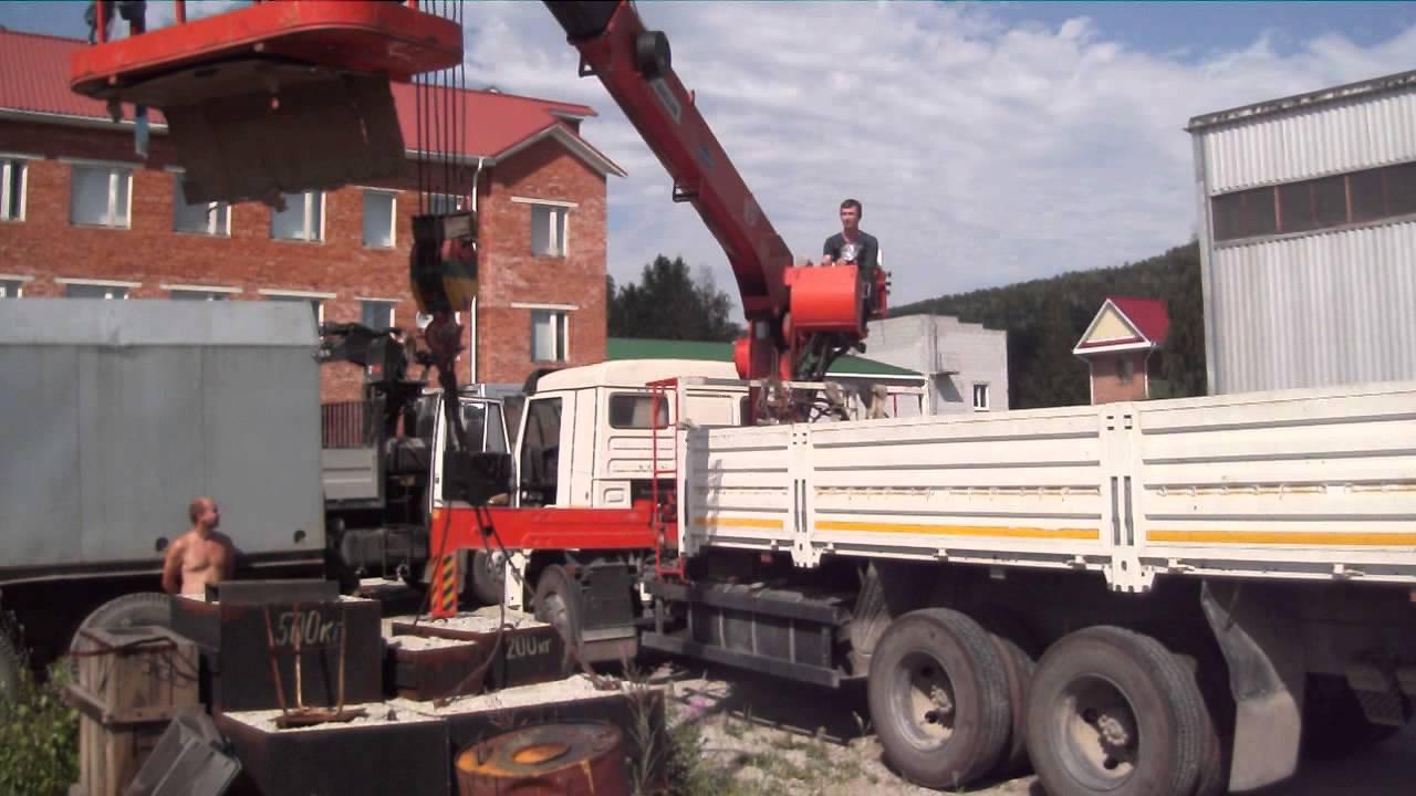 Ремонт грузовой лебедки Kanglim 1256 - ООО