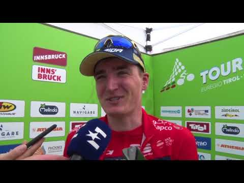 Mark Padun - Post-race interview - Stage 5 - Tour of the Alps 2018