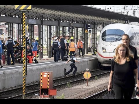 Liveleak 8-Year-Old Boy Child killed after being pushed in front of train  in Germany