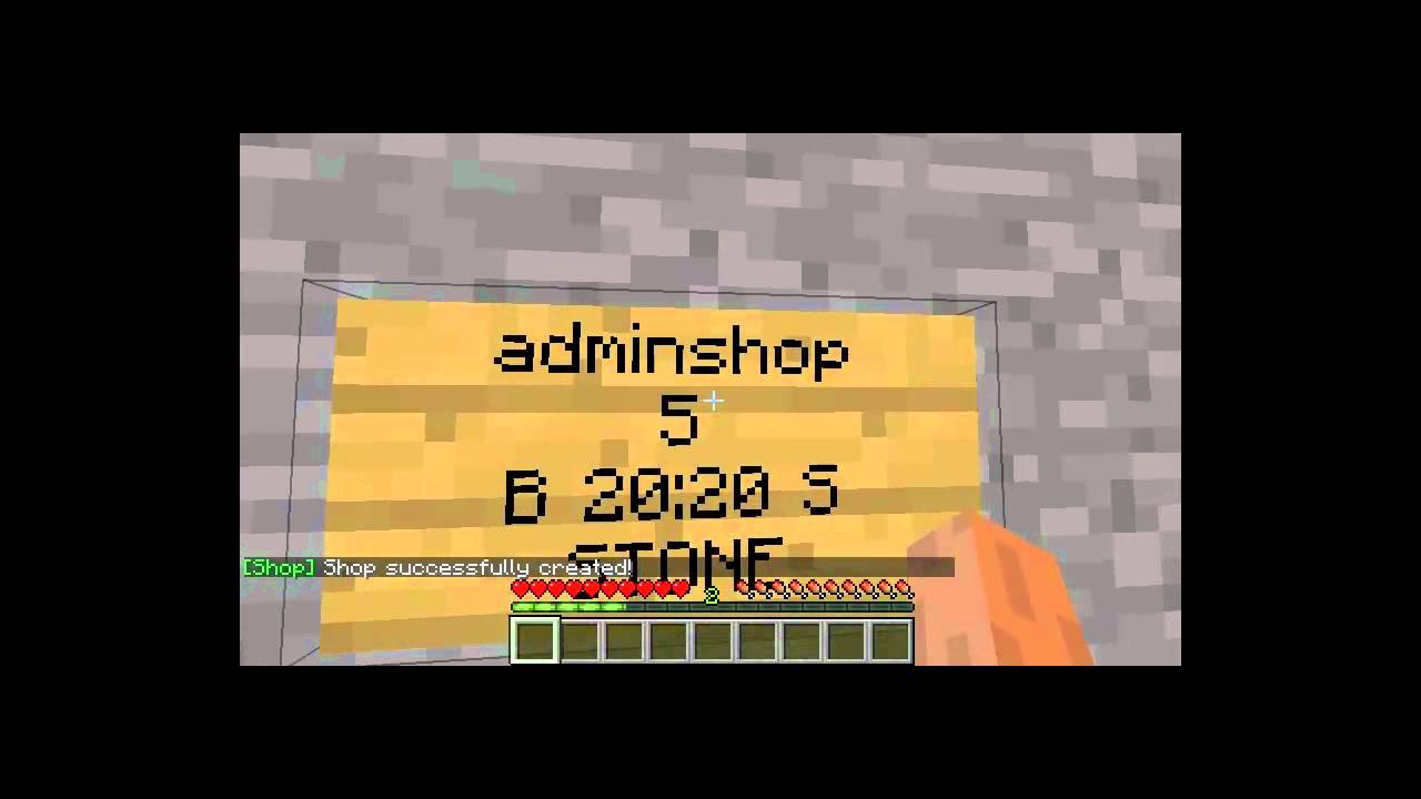 Adminshop minecraft как сделать фото 758