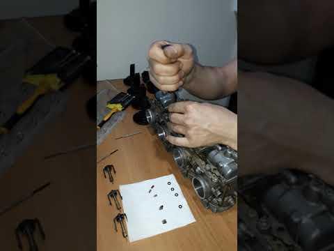 GSXR 750 KARBUROTOR BAKIMI CLEAN 2