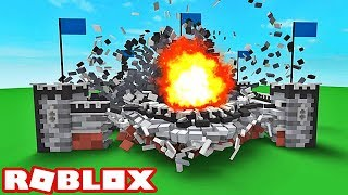 DESTROYING AN ENTIRE CITY! Roblox Destruction Simulator