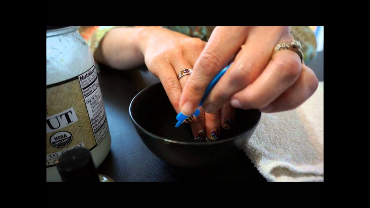 The Natural Removal Method for Jamberry Nail Wraps - YouTube