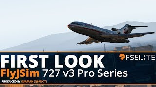 FlyJSim Boeing 727 v3 Pro Series For X-Plane 11 | The FSElite First Look