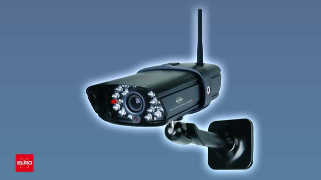 smartwares elro cs87t digital camera system youtube. Black Bedroom Furniture Sets. Home Design Ideas