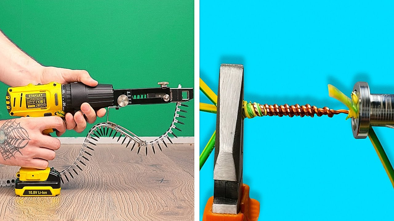 29 INVENTIONS AND REPAIR TOOLS to make any man happy