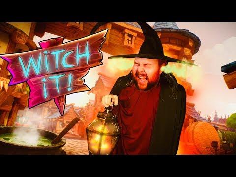 SCHEISS KACK JÄGER MAN - Witch It - HWSQ #243
