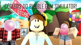 Roblox - CÓDIGOS DO BUBBLE GUM SIMULATOR! #01