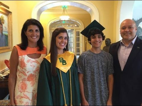 Nikki Haley Husband and Family Rare and Unseen Images ( Inspiring Leader )