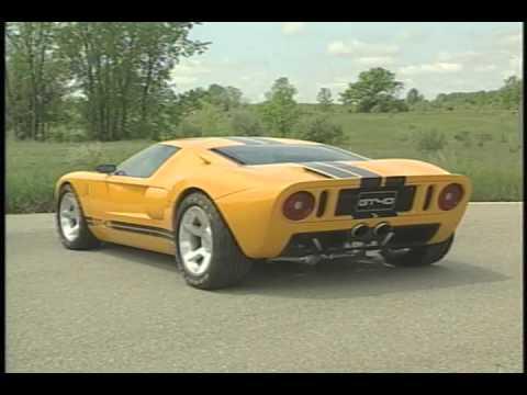 Ford GT40 Run Shots 2002 - YouTube
