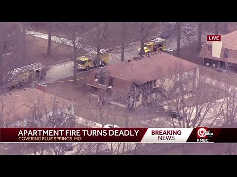 Update: Child killed in Blue Springs, Missouri, apartment fire