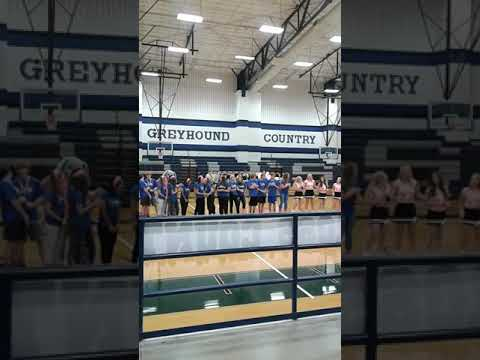 Pep Rally at Peaster High School