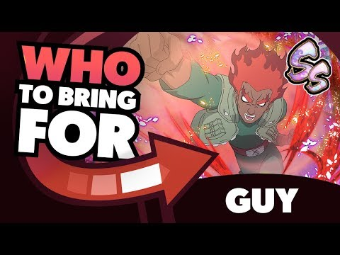   Teambuilding & Mission Guide   Who to Bring for SS-Rank Night Guy Impact Mission   Naruto Blazing
