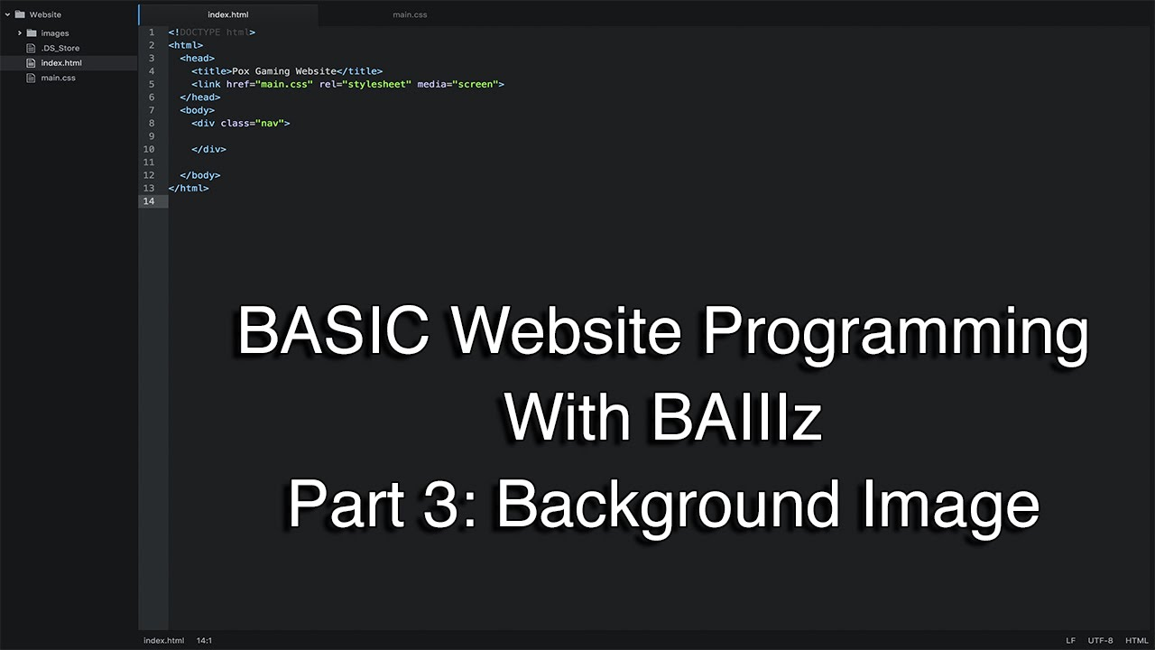 3 background images for a div - How To Program A Basic Website Part 3 Background Image
