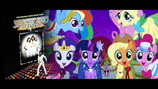 My Little Pony (Emm Ell Pees) vs Bee Gees - Gala Night Fever