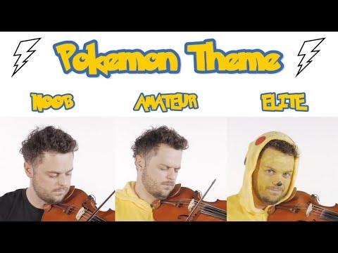 4 Levels Of Pokemon Game Music: Noob To Elite