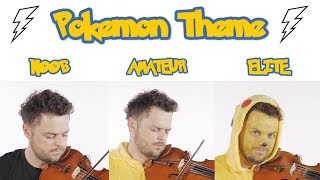 4 Levels of Pokemon Game Music: Noob to Elite