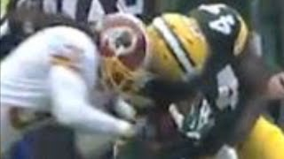 Brandon Meriweather Concussion Hits vs Bears