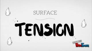 surface tension part one