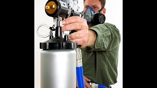 HVLP Sprayer Instructions to create a Faux Acid look.