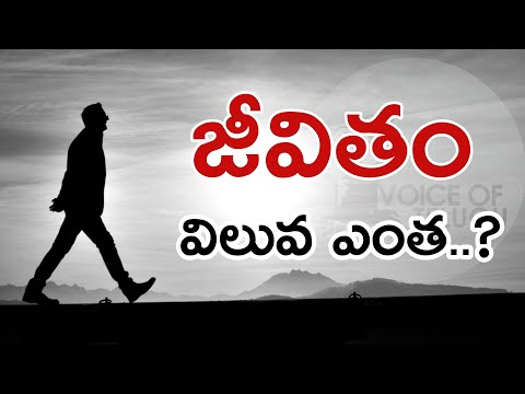 Value Of Human Life ? | Telugu Motivation Video | Voice Of T