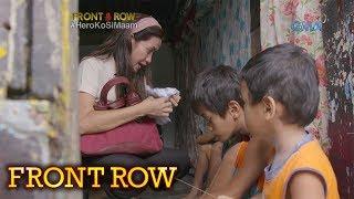Front Row: Guro sa Rizal, tumutulong sa mga batang undernourished