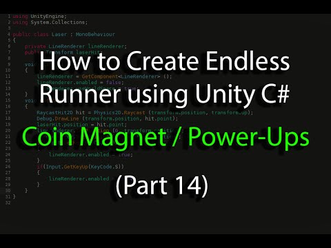 Create an Endless Runner using Unity C# (Pt 14) Coin Magnet, Power-Ups