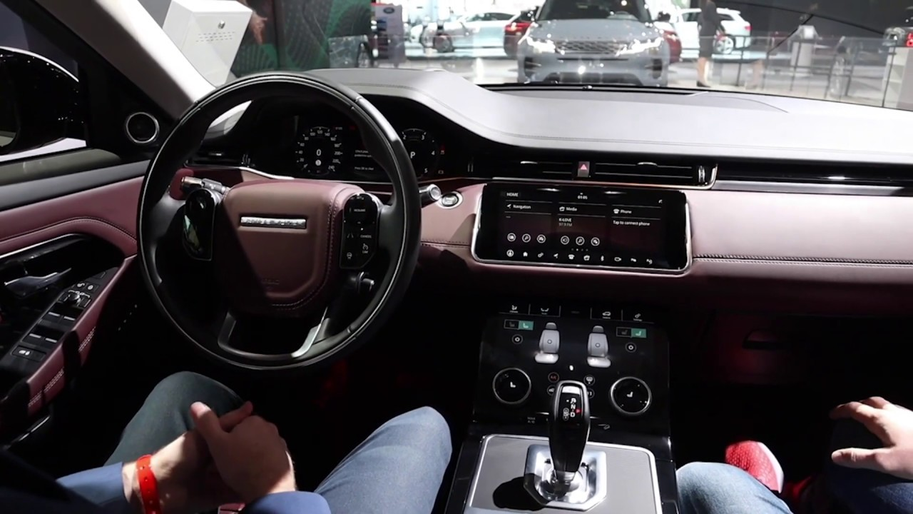 The 2020 Evoque Has The Interior Of A Range Rover Youtube