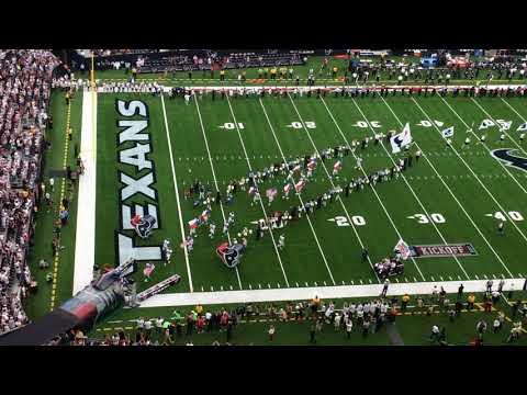 Houston Texans player introductions, opening day.