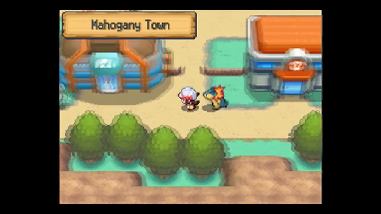 pokemon heart gold how to cut down trees
