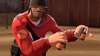 Представляем класс солдат(Team fortress 2)