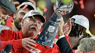 "Andy Reid on Finally Winning Lombardi Trophy, ""You get one, you wanna go get another"""