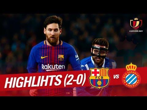 Resumen de FC Barcelona vs RCD Espanyol (2-0)