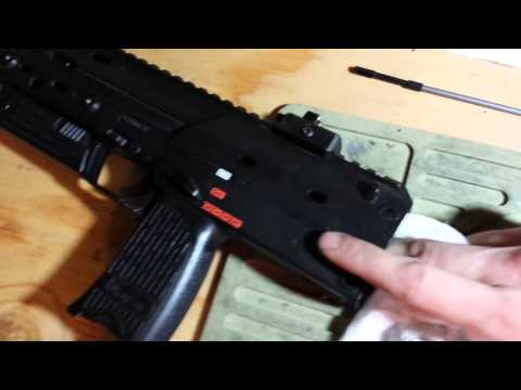KWA Umarex MP7 gbb airsoft gun basic maintanence