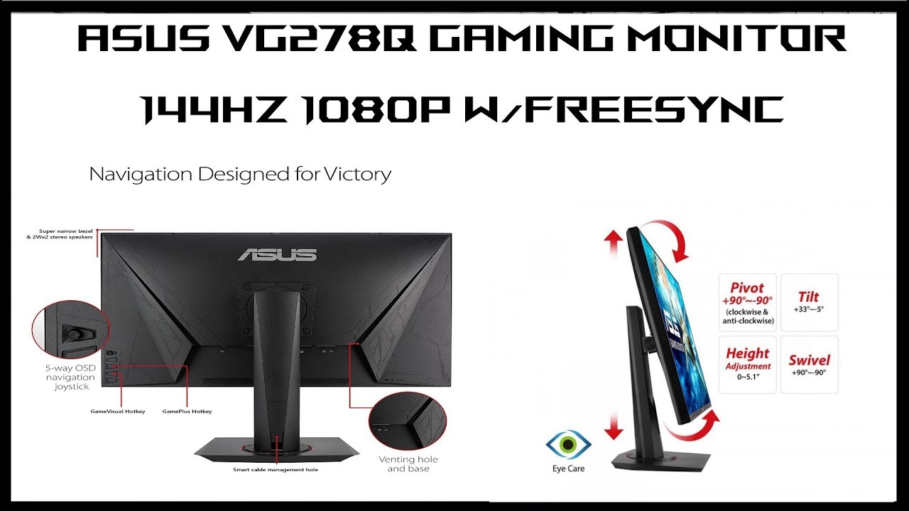 Asus VG278Q Gaming Monitor: Follow Up and Answering your questions