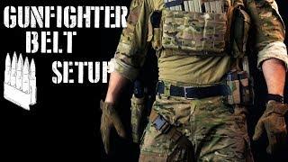 """""""Gunfighter"""" belt setup / First line gear (2018 ver)"""