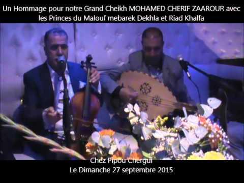 Mebarek Dekhla et Riad khalfa à Paris chez Pipou Chergui (01)