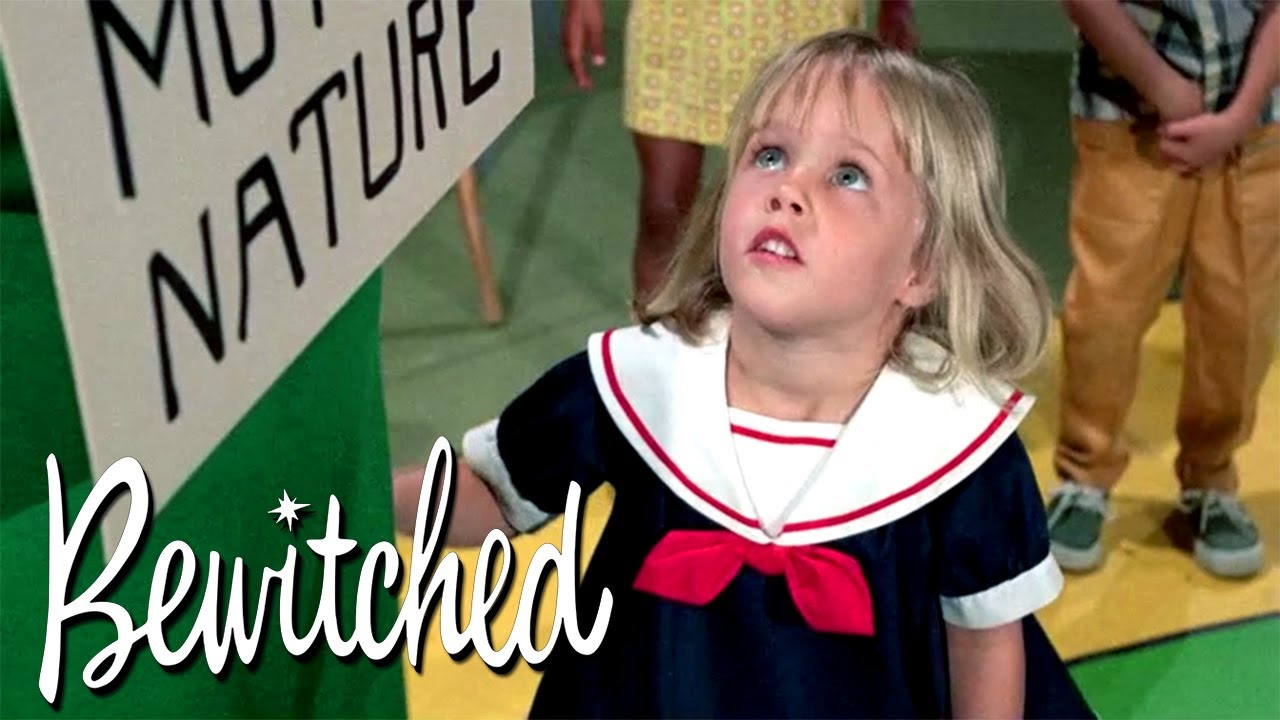 Tabitha's First Day Of Nursery School | Bewitched