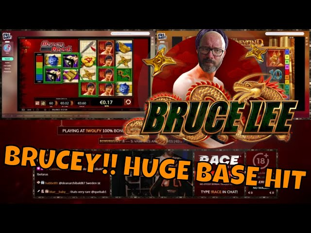 Bruce Lee MONSTER Base Game HIT!