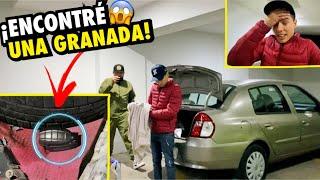 ENCONTRÉ UNA GRANAD4 EN LA CAJUELA DEL CARRO QUE ACABO DE COMPRAR.. | ManuelRivera11