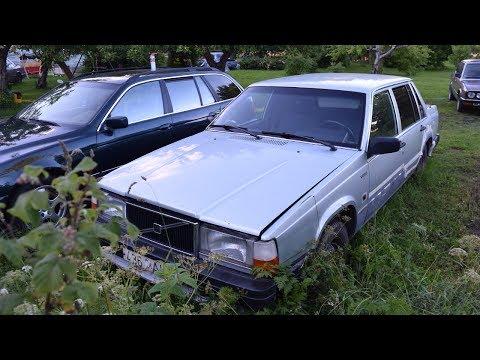 Starting 1987 Volvo 740 2.4D (D24) After 2 Months (1080p)