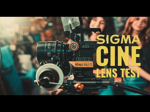 Sigma Cine Lens Test 2019 - RED 8K VV
