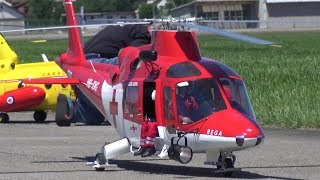BIGGEST R/C SCALE HELICOPTER SWITZERLAND TURBINE JETCAT SPT5-H TURBINE AGUSTA