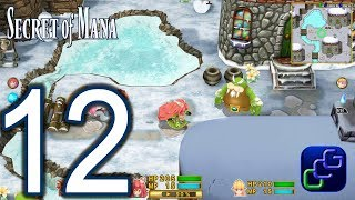 Secret Of Mana Remake PC Walkthrough - Part 12 - Ice Country, Frozen Forest