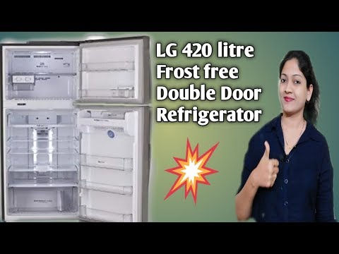 LG Frost Free 420 Litre Double Door Refrigerator Review | Best Refrigerator with all features