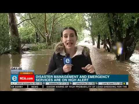 SA Weather Service has issus flood warnings - eNCA