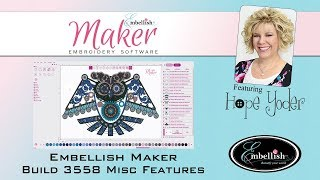 Embellish Maker - Misc Features