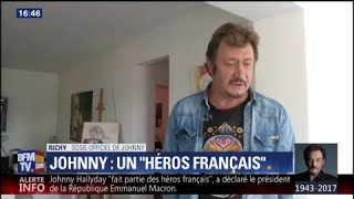 Le sosie officiel de Johnny Hallyday se dit